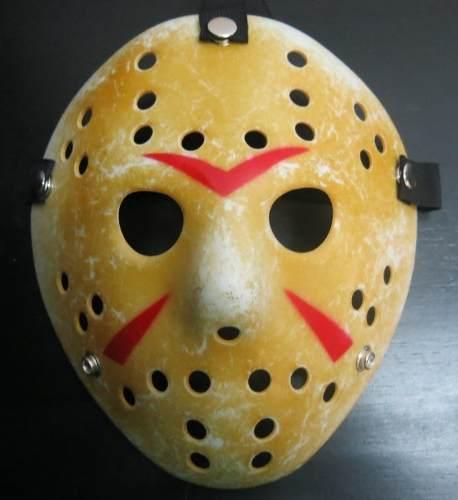 máscara jason voorhees slug maquiagem de terror