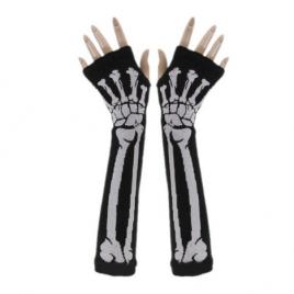 Luva sem dedos – Esqueleto